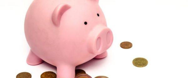 Sparschwein für einen Studentenkredit